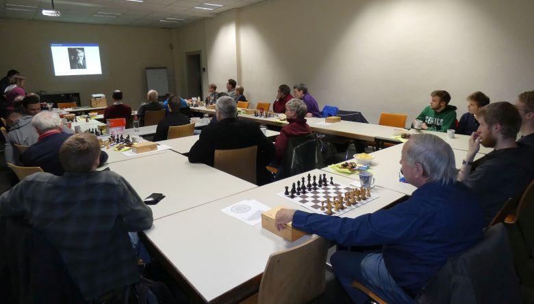 Weihnachtsfeier der Schachabteilung