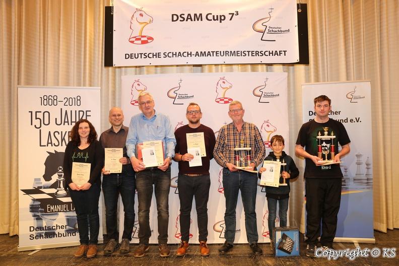 Siegerfoto DSAM Bad Wildungen 2019 mit Jonas Rau