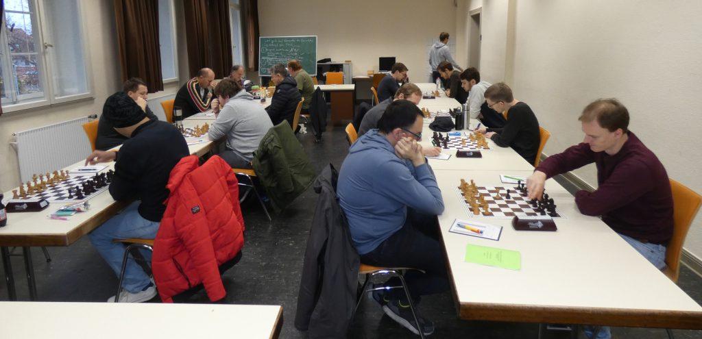 Heimspiel Landesliga Süd ESV : SK Rinteln 15.12.2019