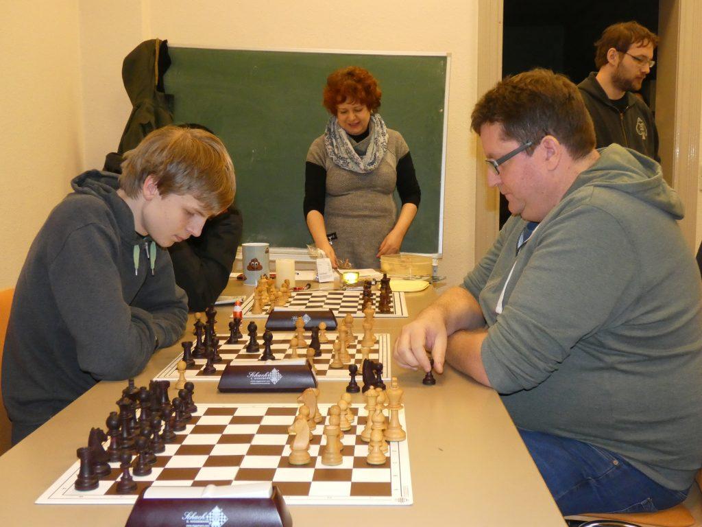 Christoph Homann – Achim Schlather; im Hintergrund Tamara Klink und Martin Hake.