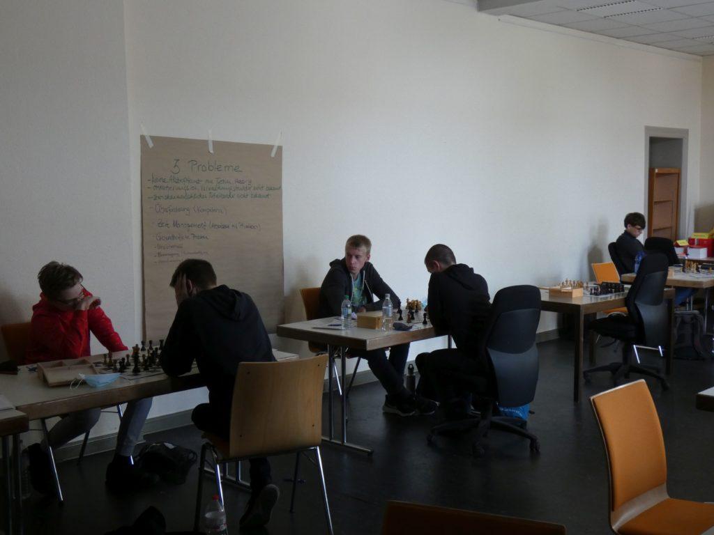 Bert Sieber, Joshua Hoke und Johannes Münk