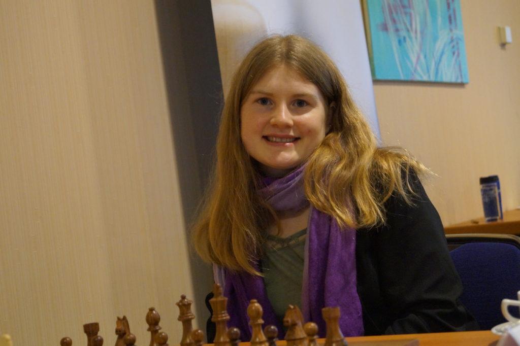Fiona Sieber bei der DSB-Kader-Challenge der Frauen in Magdeburg (5. April 2021, 1. Runde)